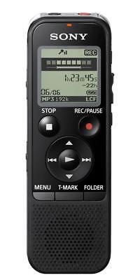Sony ICD-PX470 4GB USB Stereo Mic Digital Voice Recorder Black Brand New EU