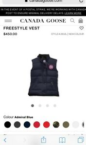 Canada Goose Women's Freestyle Vest - BRAND NEW WITH TAGS