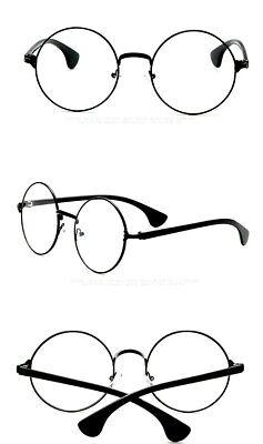 Harry Potter Brille Rund Schwarz Rahmen Klar Linse Kostüm Zubehör Brille