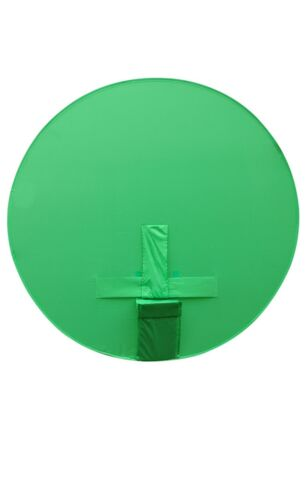 round green screen