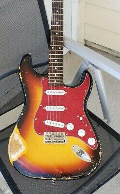 Relic Sunburst Fender Stratocaster