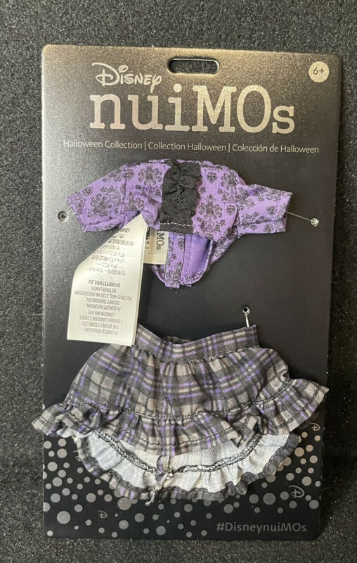 Disney nuiMOs Happy Haunts Shirt And Plaid Skirt Set New In Hand