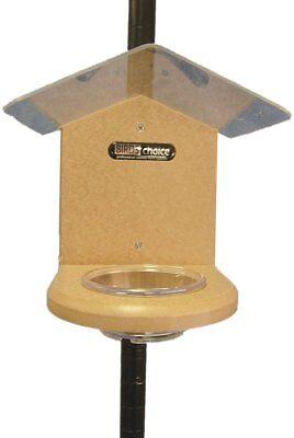 Birds Choice Pole-Mounted Mealworm Feeder