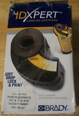 Brady Idxpert Label Cartridge Xsl-19-427 Vinyl Self-lam 1x.75x.375