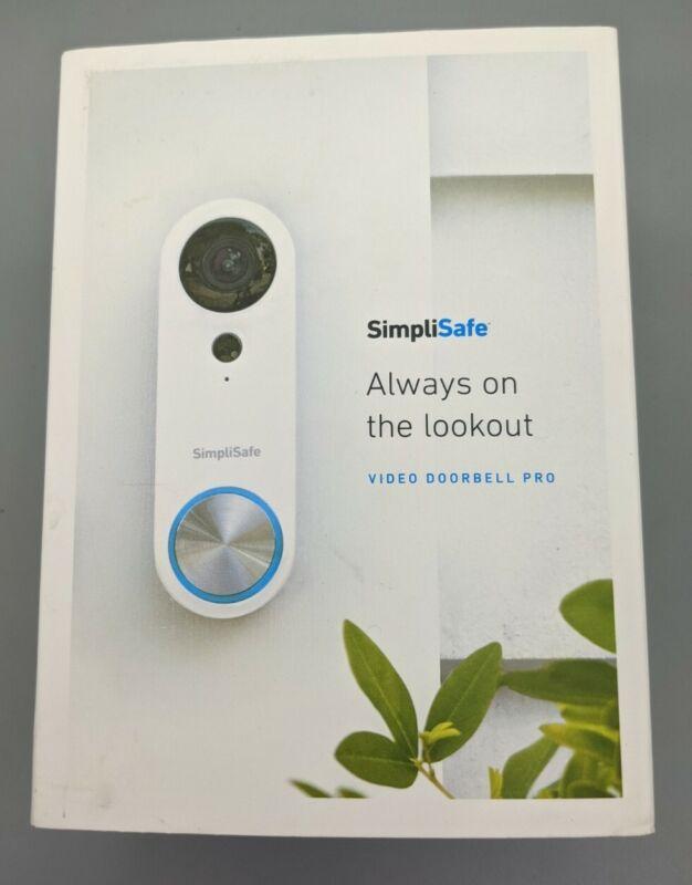 SimpliSafe SimpliCam SSDB3 Smart Video Doorbell - Brand New, Open Box
