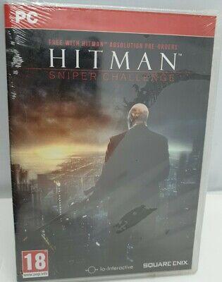 Hitman Sniper Challenge PC Edition New Sealed Rare Square Enix Pre order...