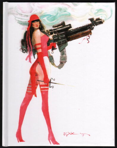 2018 SDCC Bill Sienkiewicz SIGNED LE Art Sketch Book LE 50! Elektra Moon Knight