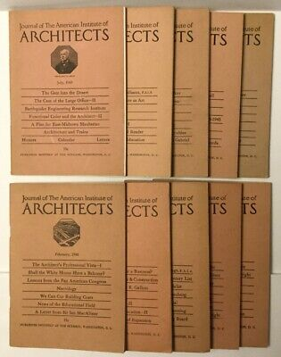 1948 & 1949 JOURNAL OF THE AMERICAN INSTITUTE OF ARCHITECTS