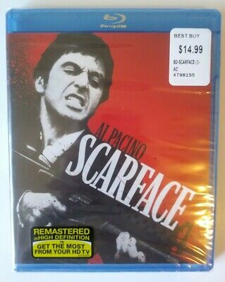 Scarface (1983) Blu Ray Disc Al Pacino New/Sealed