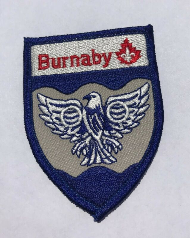 Burnaby Scouts Canada Patch - MINT
