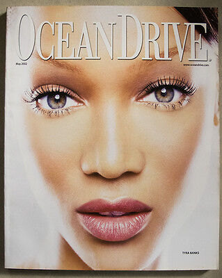 Tyra Banks Cover Ocean Drive Magazine May 2002 South Beach Ron Galella
