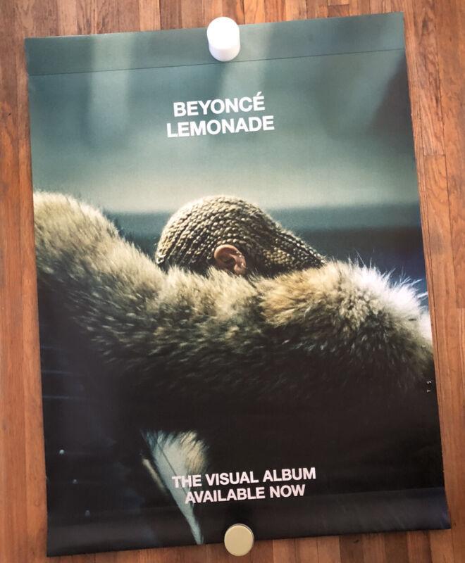 Beyonce Knowles Lemonade 2016 Promo Store Display Poster Huge 36 x 48 Rare