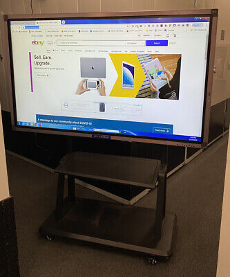 Interactive 70 4k Windowsandroid Touch Screen Tv Mobile Stand Smart Board