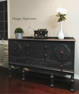 Large antique buffet sideboard