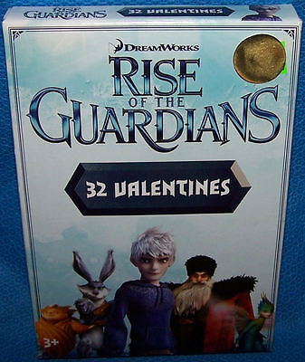 Halloween Rise Of The Guardians (Valentines Day Cards (Box of 32) Dreamworks Rise Of The)