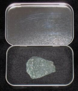 Green Kryptonite Meteor Rock w/ Lead Case Batman VS Superman Man of Steel