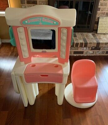 Vintage Little Tikes Beauty Salon Vanity Make Up Play Set LOCAL PICK UP ONLY!