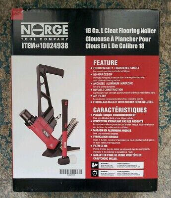 Norge 18 Ga. L Cleat Flooring Nailer