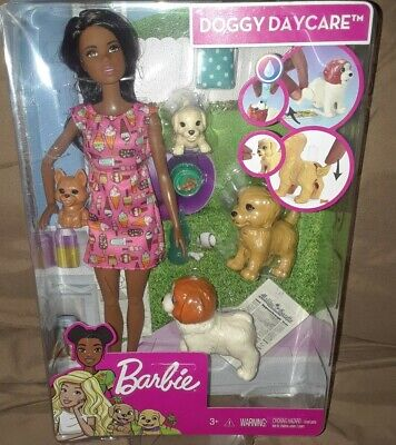 """Barbie """"Doggy Daycare"""" with Pets and Accessories"""