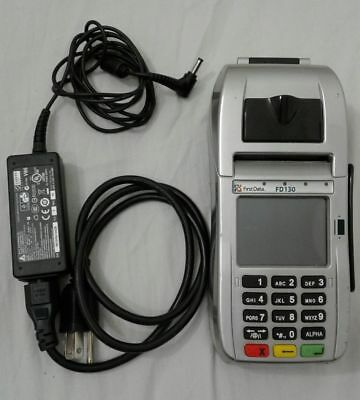 First Data Fd130 Emv Chip Card   Nfc Wifi Internet Dial   Unlocked   Warranty