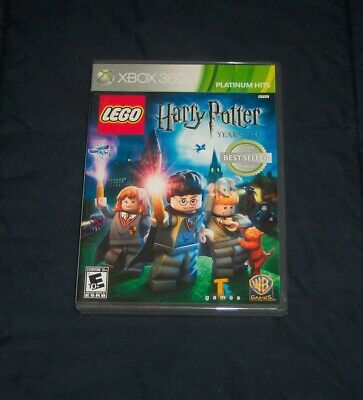 LEGO Harry Potter: Years 1-4 Platinum Hits Edition (Microsoft Xbox 360, 2010)