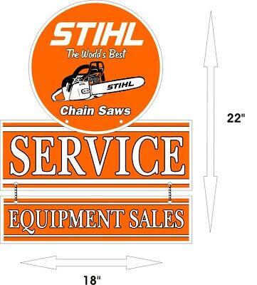 STIHL World's Best Chain saw Sales Service Aluminum Vintage 22