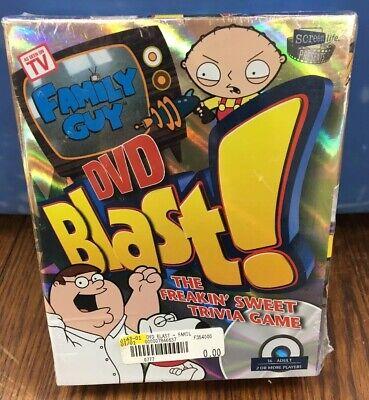 FAMILY GUY DVD BLAST! BRAND NEW AND SEALED  DVD The Freakin