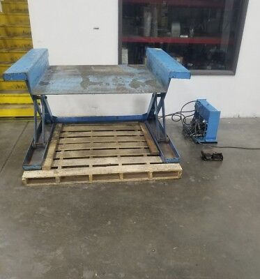 110v Hydraulic Lifting Table 14 - 32 Height 48 X 50 Platform 3822sr
