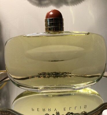 Vintage Perry Ellis Factice Store Display Dummy Perfume Bottle Made In France
