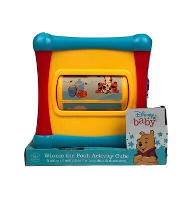 Disney Winnie The Pooh Activity Cube Baby Toy BRAND NEW Learning & -