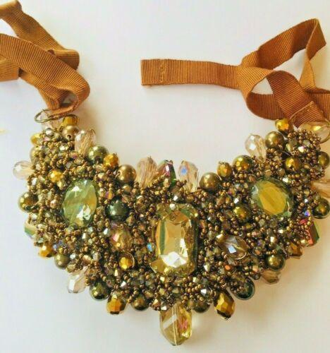 stunning costume necklace collar statement piece jewellery accessories