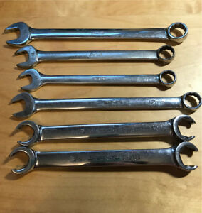 6 snap on wrenches