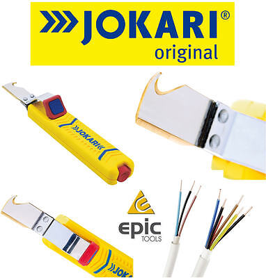 JOKARI CK 8mm To 28mm Wire/Cable Stripping Sheath Hand Tool Cutter, 8-28mm,10280