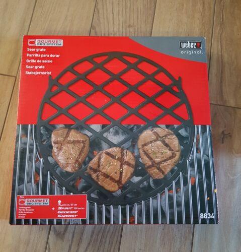 Brandneu: Weber 8834 Gourmet BBQ System , Sear Grate Einsatz Grillrost