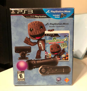 PS3 Move Bundle with LittleBigPlanet 2 Special Edition