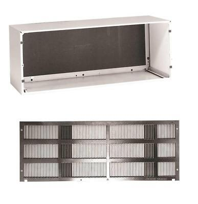 GE Wall Sleeve and Grille for Zoneline Series PTAC Heat Pump Air Conditioners