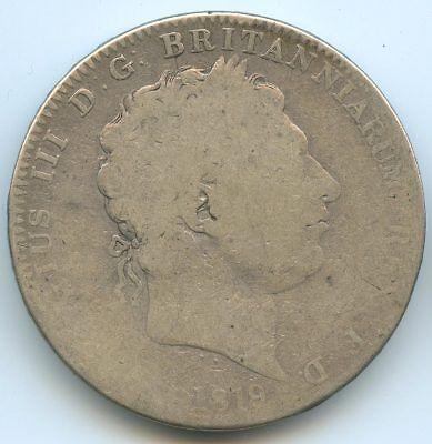 UK George III Crown 1819 km 675