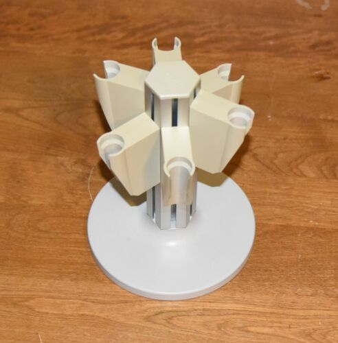 Eppendorf Height Adjustable 6-position Rotatable Pipettor Carousal Great Shape!