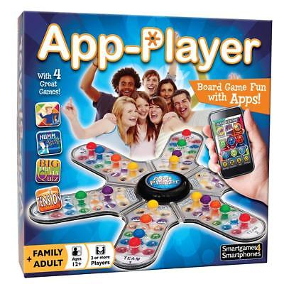 App Player Board Game - 4 Great Games in 1 - Cheatwell Games