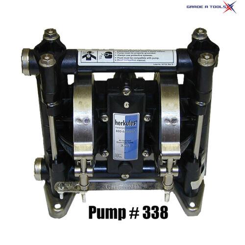 Herkules 338 Gun Washer Diaphragm Pump