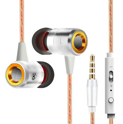 Extra Bass In-Ear-Kopfhörer & In-Ear Stereo Sport Ohrhörer/Earphones (Weiß)