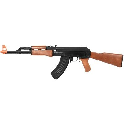 FULL AUTO AK-47 LICENSED AIRSOFT ELECTRIC AEG RIFLE GUN w/ 6mm BB BBs AK47
