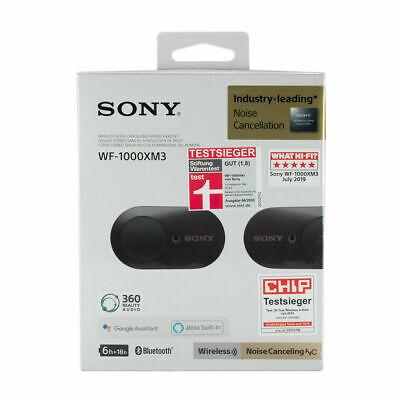 Sony WF-1000 XM3 - Bluetooth - True wireless - Schwarz...