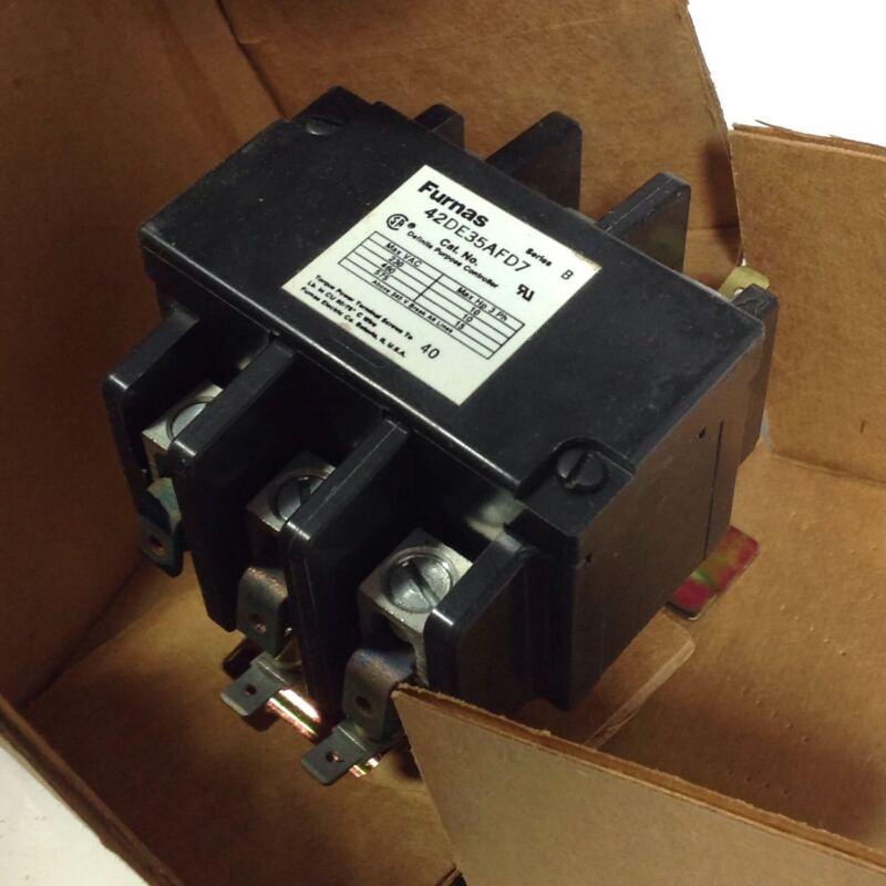 FURNAS 3-POLE MAGNETIC CONTACTOR SER.B NIB 42DE35AFD7 103204