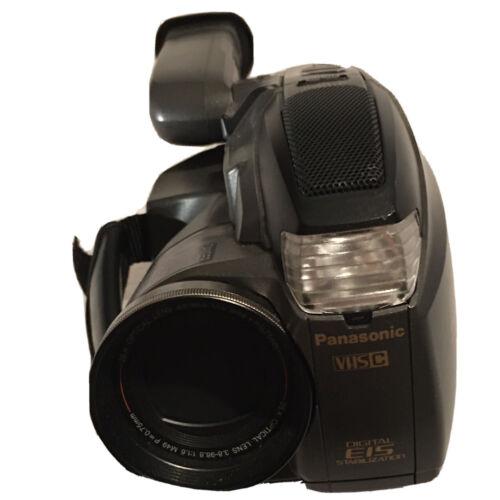 Panasonic Palmcorder PV-D209 VHS-C Camcorder W/Case - TESTED WORKS  - $12.50
