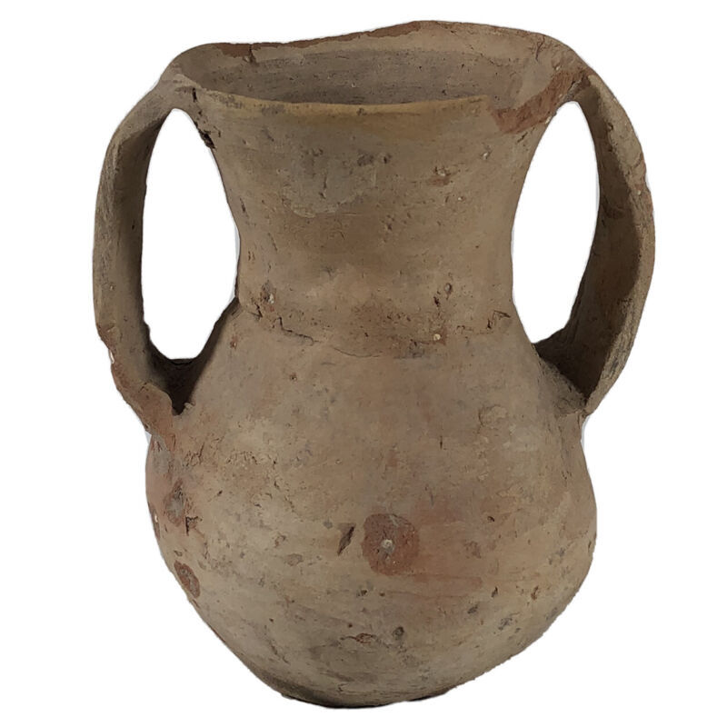 Ancient Chinese Neolithic Tomb Pottery Jar Artifact Authentic Antiquity Asian