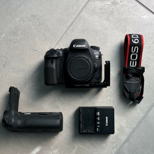 Canon 6D Mark II BG-E21 Grip L Bracket Charger FREE 2 DAY SHIPPING  - $999.95