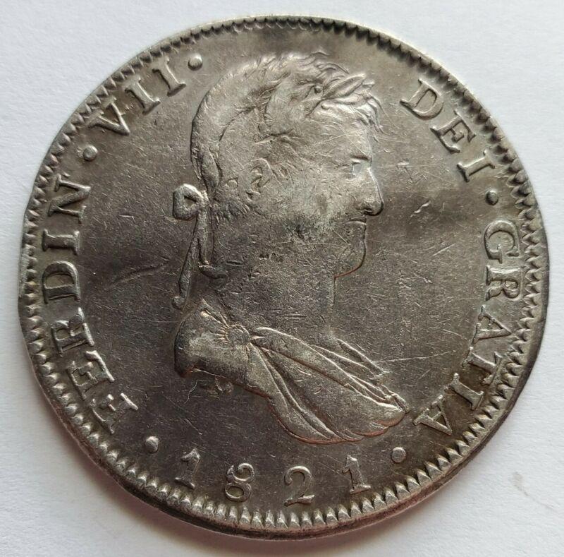 1821 Guadalajara 8 Reales