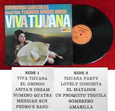 LP Edmundo Gonzales & Tijuana Brass Band: Viva Tijuana (Iris 15.008) NL