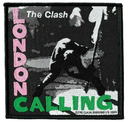 The Clash - London Calling Patch - LP Vinyl Record Album Cover [UK Import] Logo